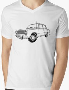 Lada VAZ 2101 Mens V-Neck T-Shirt