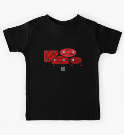 """""""Strongly Connected Components Algorithm - RED""""© Kids Tee"""