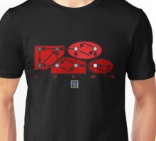 """Strongly Connected Components Algorithm - RED""© Unisex T-Shirt"