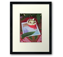 Bamboo and Cupcakes Framed Print