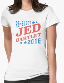 Re-Elect Jed Bartlet 2016 - Tricolor Womens Fitted T-Shirt