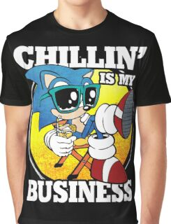 Chillin' Business Graphic T-Shirt
