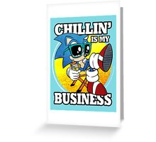 Chillin' Business Greeting Card