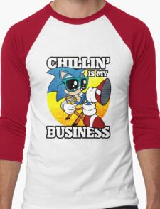 Chillin' Business Men's Baseball ¾ T-Shirt