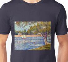 Georges Seurat The Seine and la Grande Jatte - Springtime Unisex T-Shirt