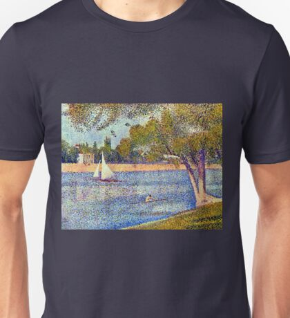Georges Seurat The Seine and la Grande Jatte - Springtime Unisex T-Shirt