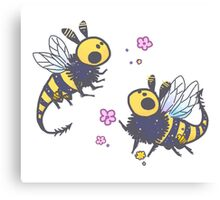 bee dragons Canvas Print
