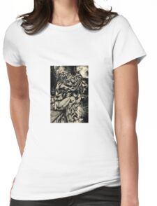 Aberrant Womens Fitted T-Shirt