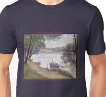 Georges Seurat Gray weather, Grande Jatte Unisex T-Shirt