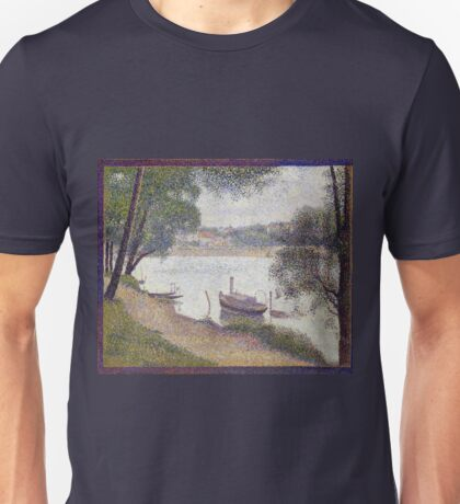 Georges Seurat Gray weather, Grande Jatte Unisex T-Shirt