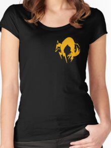 Metal Gear Solid - FOX Logo Women's Fitted Scoop T-Shirt