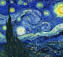 The Starry Night Vincent van Gogh by JBJart