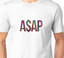 ASAP A$AP ACID LSD BLACKLIGHT NEON RAINBOW COLORS Unisex T-Shirt