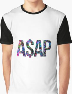 ASAP A$AP ACID LSD DRIP DROPLETS  Graphic T-Shirt