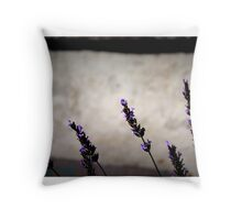 Lavender Afternoon Throw Pillow