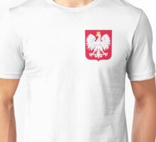 Polski eagle with crown Unisex T-Shirt