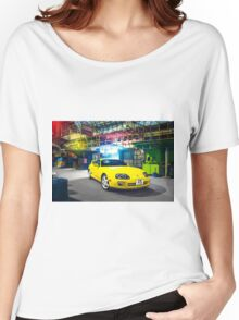TOYOTA Supra in Yellow Women's Relaxed Fit T-Shirt