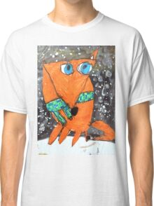 Mona Lisa Fox Classic T-Shirt