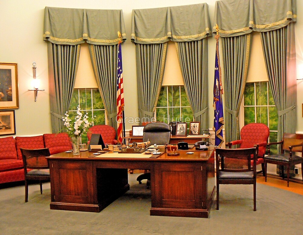 Replica Truman Oval Office by Graeme  Hyde