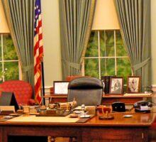 Replica Truman Oval Office Sticker
