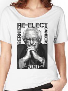 Re-Elect Bernie Sanders 2020 - Portrait Women's Relaxed Fit T-Shirt
