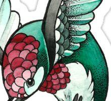 simple hummingbird Sticker