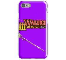 The Legend of Waluigi: Wah Force Hero iPhone Case/Skin