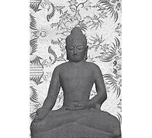 Seated Buddha Photographic Print