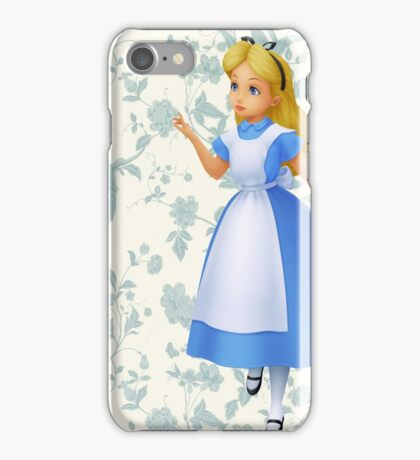 Floral Alice  iPhone Case/Skin