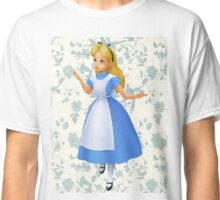 Floral Alice  Classic T-Shirt