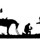 Cowboy's Prayer by Bonnie T.  Barry