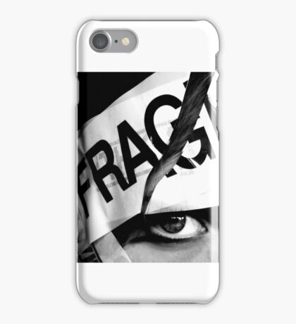 Fragile mind iPhone Case/Skin