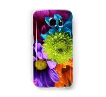 Multi-Colored Flowers Samsung Galaxy Case/Skin