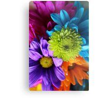 Multi-Colored Flowers Metal Print