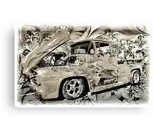 Vintage Ford Pick-up Truck Canvas Print