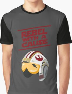 Star Wars - Rebel With a Cause  Graphic T-Shirt