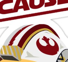 Star Wars - Rebel With a Cause  Sticker