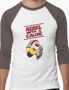 Star Wars - Rebel With a Cause  Men's Baseball ¾ T-Shirt