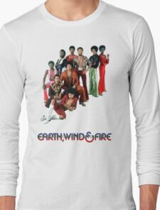Earth, Wind and Fire - Maurice White Tribute Long Sleeve T-Shirt