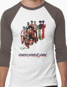 Earth, Wind and Fire - Maurice White Tribute Men's Baseball ¾ T-Shirt