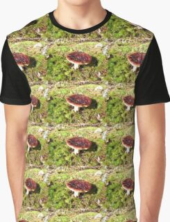 Fungus, Cascade Mountains Forest Floor Graphic T-Shirt