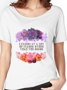 Panic At Other Places Women's Relaxed Fit T-Shirt