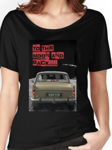 to the moon and back.... Valentine's - by Anne Winkler Women's Relaxed Fit T-Shirt