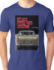 to the moon and back....  Unisex T-Shirt