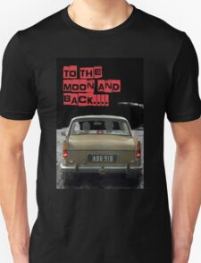 to the moon and back.... Valentine's T-Shirt