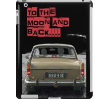 to the moon and back.... Valentine's - by Anne Winkler iPad Case/Skin