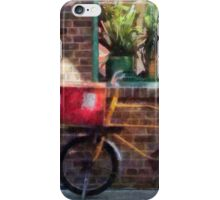 Delivery Bicycle Greenwich Village iPhone Case/Skin