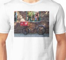 Delivery Bicycle Greenwich Village Unisex T-Shirt