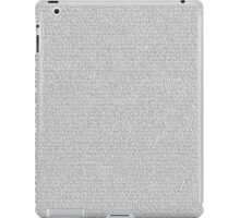 Toy Story [Script] iPad Case/Skin