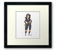 Human Female Rogue Framed Print